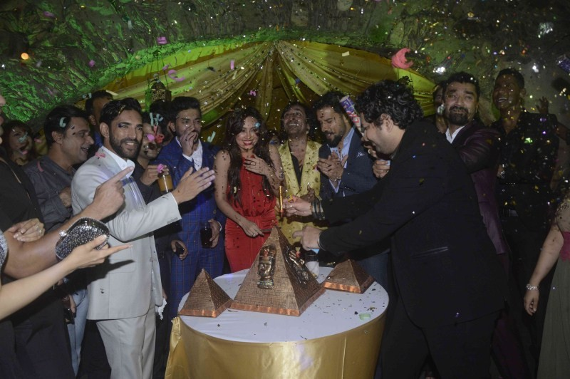 Sana Khan,Sana Khan birthday party,Happy birthday Sana Khan,Sana Khan birthday celebration,Ajaz Khan,Rajeev Paul,Sana Khan birthday party pics,Sana Khan birthday party images,Sana Khan birthday party photos,Sana Khan birthday party stills,Sana Khan birthd
