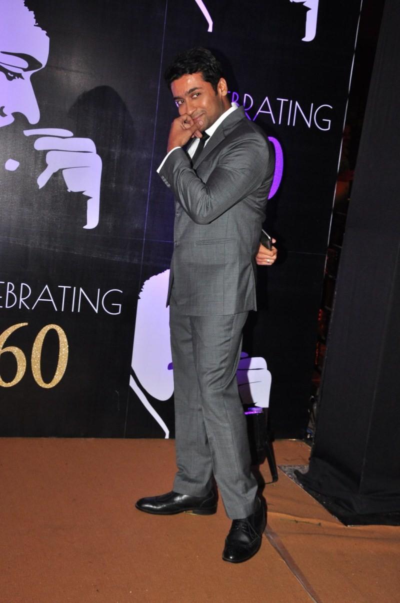 Suriya,Suriya at Chiranjeevi's 60th Birthday Celebration,Chiranjeevi's 60th Birthday Celebration,Chiranjeevi,Devi Sri Prasad