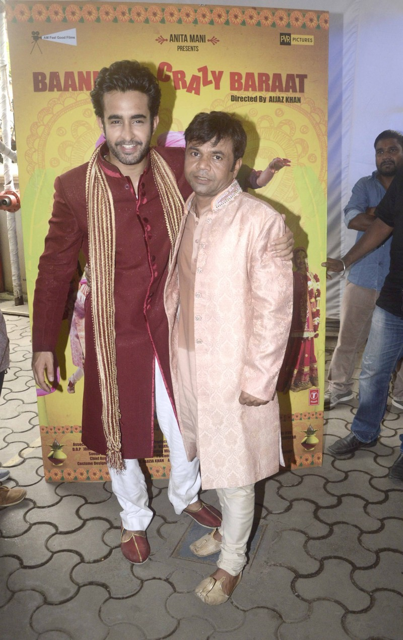 Satyajeet Dubey,Raajpal Yadav,Baankey Ki Crazy Baraat Movie Promotion,Baankey Ki Crazy Baraat,Baankey Ki Crazy Baraat Movie Promotion pics,Baankey Ki Crazy Baraat Movie Promotion images,Baankey Ki Crazy Baraat Movie Promotion photos,Baankey Ki Crazy Baraa