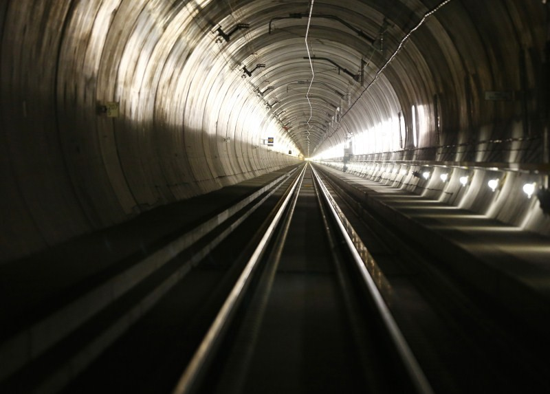 World's longest tunnel,World's longest tunnel under Swiss Alps,tunnel under Swiss Alps,Tunnel through the Alps,Gotthard Base Tunnel,World's Longest Tunnel Drilled Under Swiss Alps,tunnel,longest tunnel