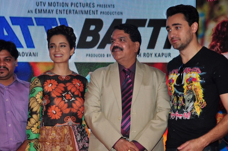 Kangana Ranaut,Imran Khan,Katti Batti,Katti Batti movie promotion,Katti Batti movie promotion at MMK College,Imran and Kangna