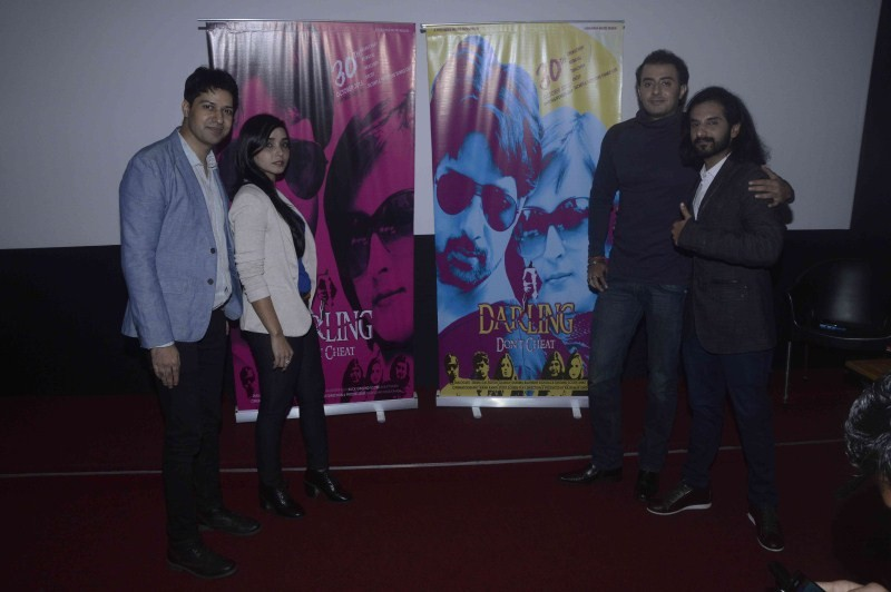 Darling Don't Cheat,Darling Don't Cheat first look,First Look Launch of Darling Don't Cheat Movie,Bollywood Movie Darling Don't Cheat,Darling Don't Cheat first look launch event,Trailer Launch Of Film Darling Don't Cheat,Darl