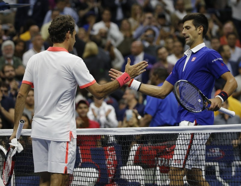 Novak Djokovic defeats Roger Federer,Novak Djokovic,Roger Federer,US Open 2015,US Open 2015 final,grand slam,US Open