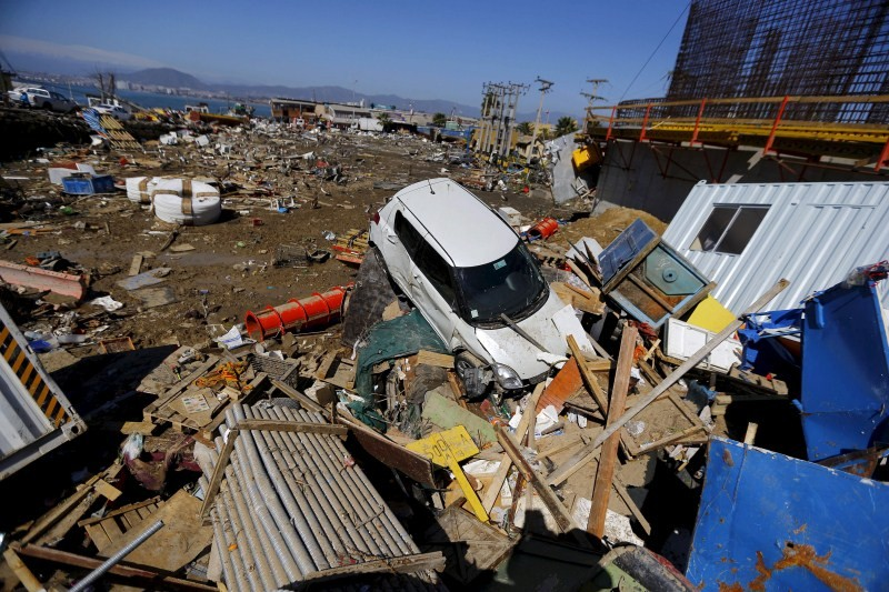 Chile Rocked by Earthquake,Earthquake,Chile Earthquake,Earthquake in Chile,8.3 earthquake,8.3 magnitude earthquake