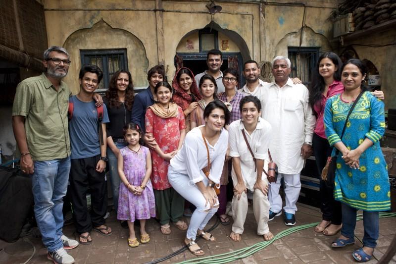 Aamir Khan,Mahavir Singh Phogat,Dangal movie launch,Dangal,Dangal shooting,Siddharth Roy Kapur,Amrita Pandey,Dangal movie pooja,Aamir Khan in Dangal