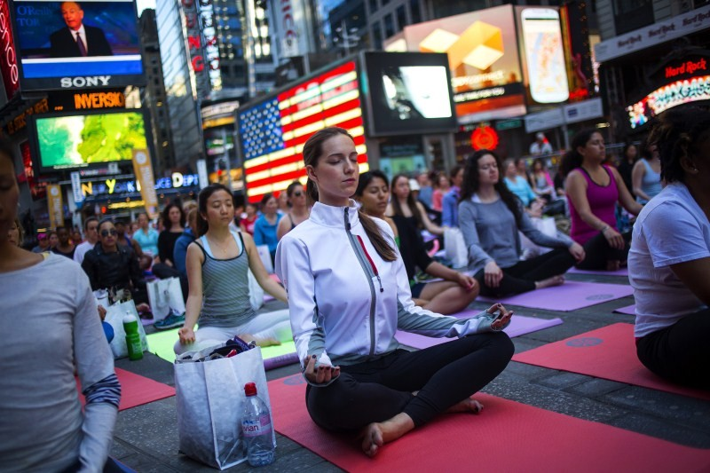 Yoga,Yoga in unexpected places,Yoga  practices,different type of yoga,Performing yoga at unexpected places