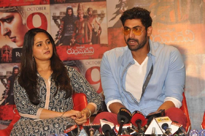 Rudhramadevi Press Meet,Rudhramadevi,Anushka Shetty,Allu Arjun,Rana Daggubati,Rudramadevi Release Date Press Meet