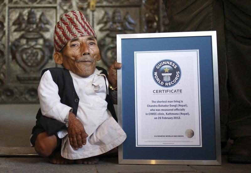 World's shortest man,Chandra Bahadur Dangi,Chandra Bahadur Dangi dies at age 75,Guinness World Records,Guinness World Record
