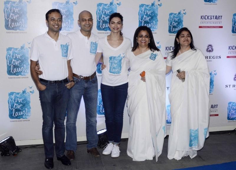 Deepika Padukone,Deepika Padukone launches Live Love Laugh foundation,Live Love Laugh,NGO 'Live Love Laugh',actress Deepika Padukone,Deepika Padukone latest pics,Deepika Padukone latest images,Deepika Padukone latest photos,Deepika Padukone late