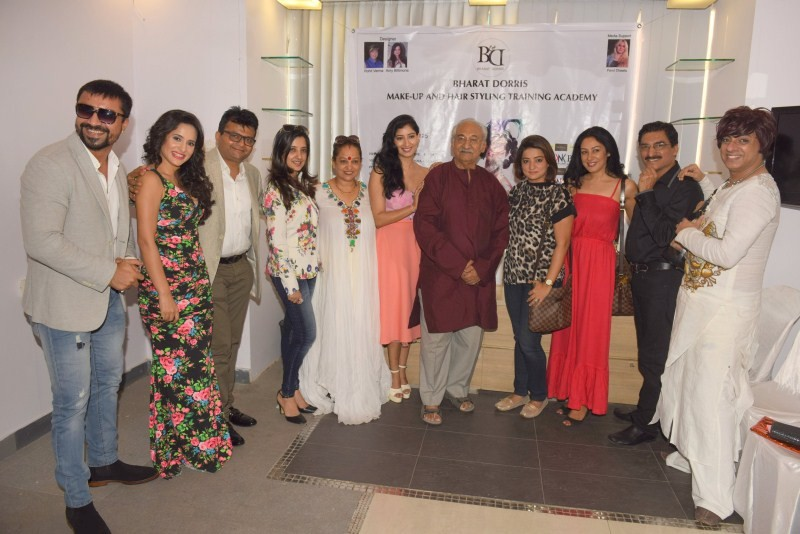 Bharat and Dorris Hair and Makeup Event,Bharat Hair and Makeup Event,Dorris Hair and Makeup Event,Fashion Show & Convocation Ceremony 2015,Fashion Show,Convocation Ceremony 2015,Rohit Verma,Aneel Murarka,Niharica Raizada,Shweta Khanduri,Ajaz Khan,Anja