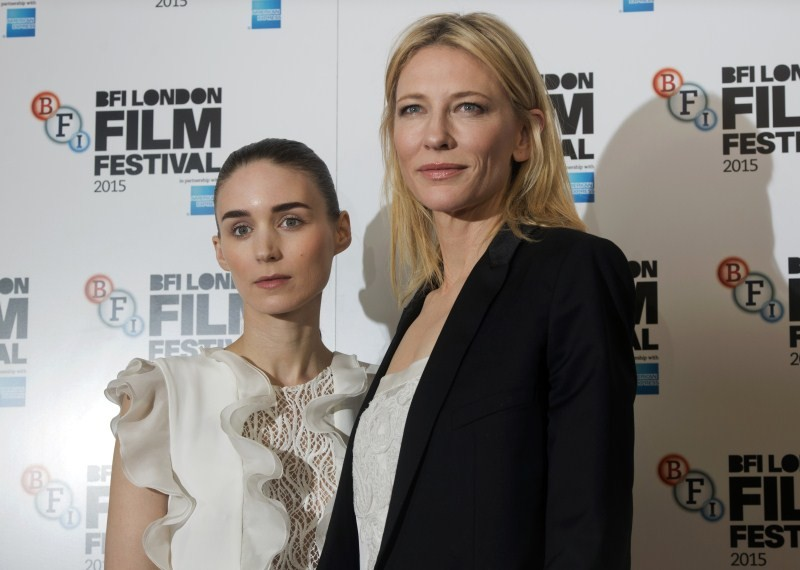 Carol special screening,Carol,hallywood movie Carol,Cate Blanchett,Rooney Mara,Cate Blanchett,Rooney Mara at Carol special screening,British Film Institute,Film Festival