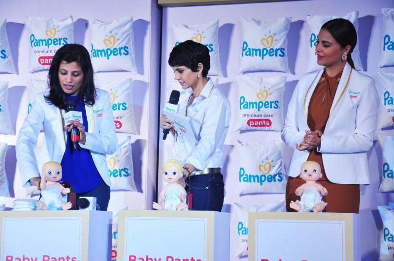Lara Dutta,Mandira Bedi,Pampers Premium Care Pants,Pampers Premium,P&G