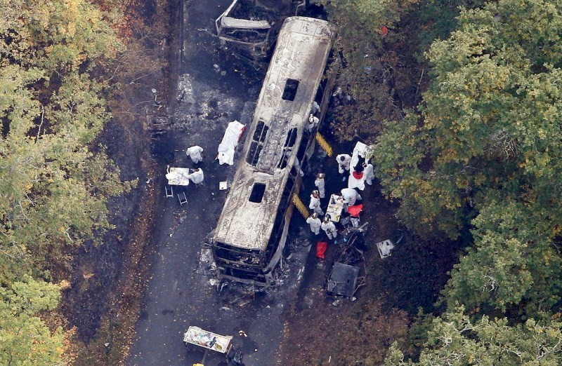 Deadly bus crash in France,Deadly bus crash,bus crash in France,bus crash,worst road crash