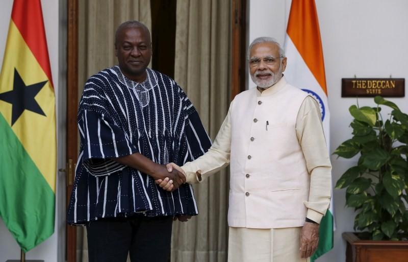 Narendra Modi,Prime Minister Narendra Modi,Modi,Muhammadu Buhari,Boni Yayi,Mswati III,John Dramani Mahama,Robert Mugabe,Hyderabad House
