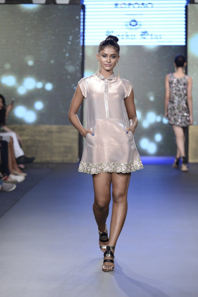 GIBFW S2 Rocky S Resort Wear,Rocky S Resort Wear,versatile designer Rocky Star,designer Rocky Star,Gionee India Beach Fashion Week,Gionee India Beach,Fashion Week,Fashion Week 2015,Fashion show