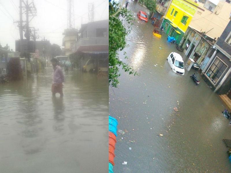 Chennai Cyclone,Chennai Cyclone Update,Heavy Rainfall,Heavy Rainfall in chennai,Chennai Rainfall,heavy rain in chennai,Heavy Rainfall affects traffic