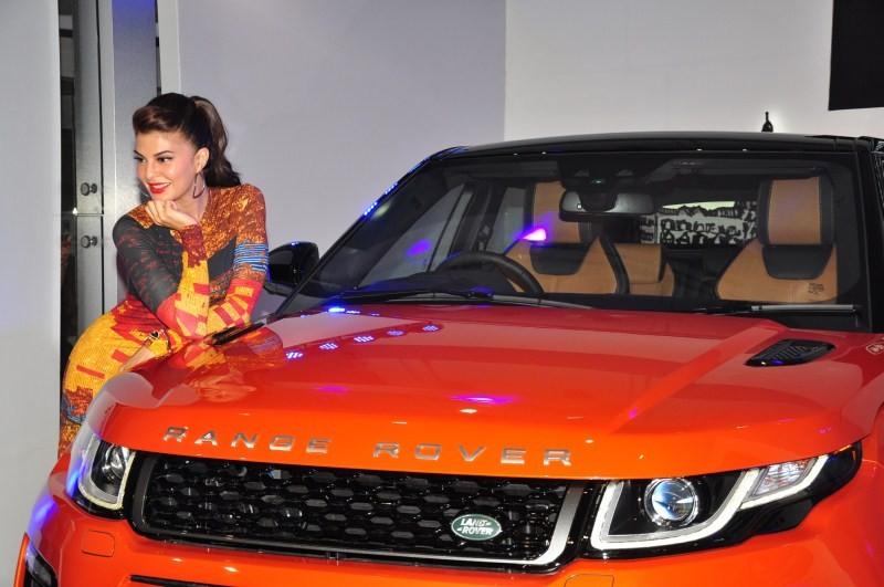 2016 Range Rover Evoque,Jacqueline Fernandez,2016 Range Rover Evoque price,new Range rover Evoque India details,Land Rover Range Rover Evoque,Jaguar Land Rover India,jacqueline Fernandez brand ambassador,New land Rover SUV