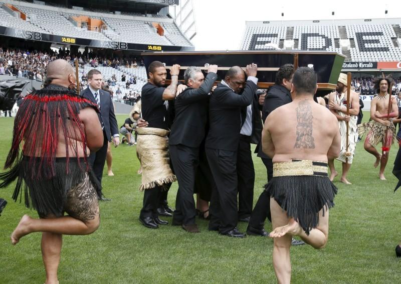 NZ bids farewell to Jonah Lomu,Jonah Lomu,Auckland,New Zealand