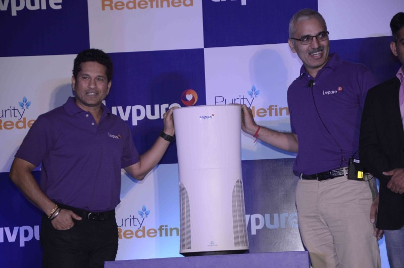 Sachin Tendulkar,Sachin Tendulkar launches Livpure water purifier,Livpure water purifier,water purifier,Sachin,portable air purifier