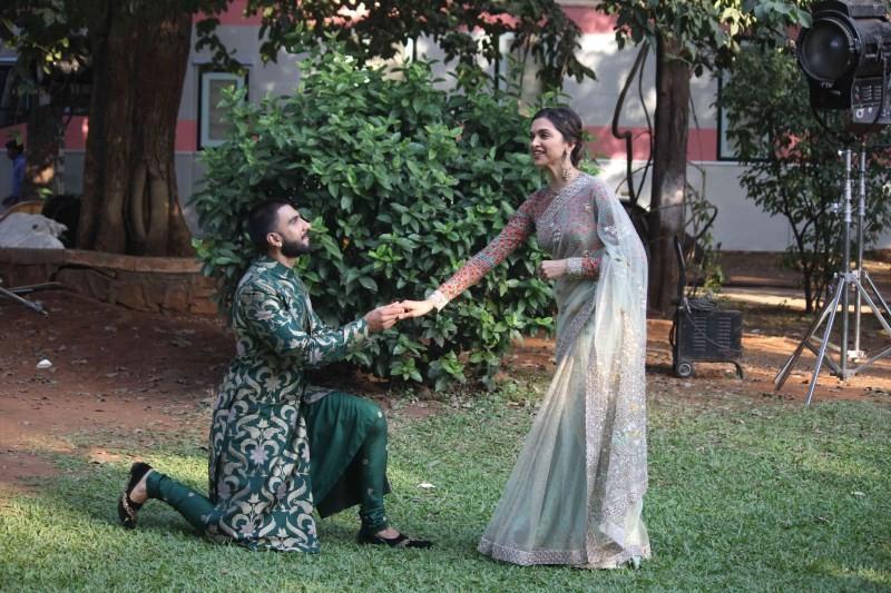 Bajirao Mastani,Ranveer Singh,Deepika Padukone,Swaragini,Bajirao Mastani promotion,Bajirao Mastani movie promotion,Ranveer Singh and Deepika Padukone