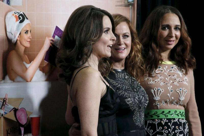 Sisters premiere show,hoolywood movie Sisters,Sisters premiere show pics,Sisters premiere show images,John Cena,Amy Poehler,Tina Fey