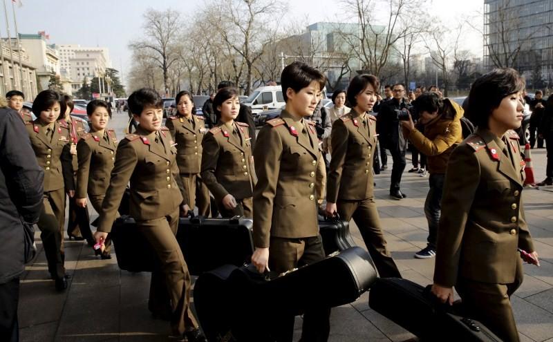 North Korean pop band,Moranbong Band,Beijing National Centre,China