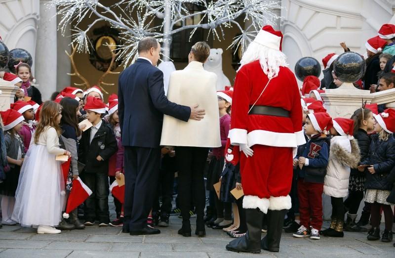 Prince Albert,Charlene,Christmas tree ceremony,Christmas,Monaco Palace,Monaco Prince Albert,Christmas holiday season