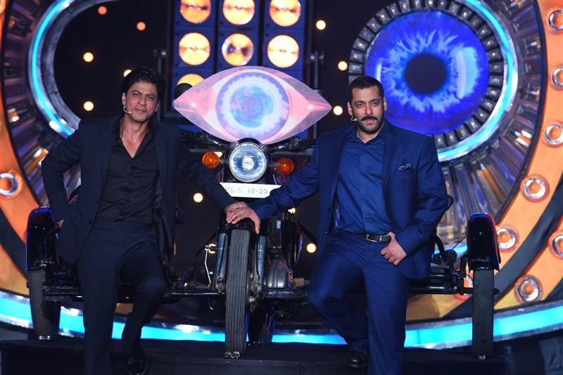 Shah Rukh Khan & Salman Khan,Shah Rukh Khan,Salman Khan,Bigg Boss 9,Bigg Boss Nau,Bigg Boss