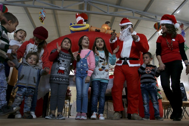 Christmas celebration in Iraq,Christmas celebration,Christmas celebration in Islamic State,Santa Claus,Baghdad area,Islamic State