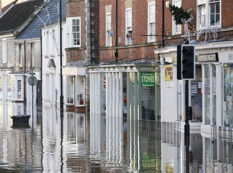 Flooding hits England,UK floods,floods,floodwaters,heavy rainfall,northern England