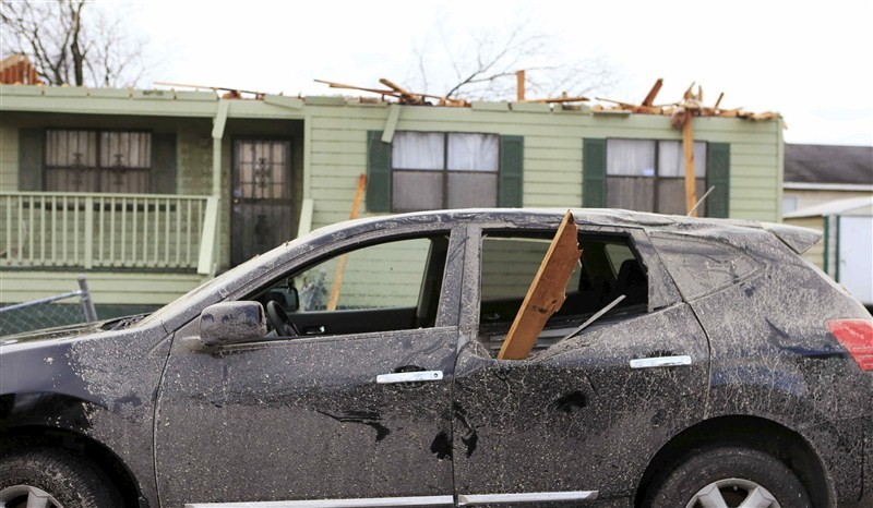 Tornadoes,torrential rains,US storms and tornadoes,US storms,US tornadoes,Severe storms ravage U.S