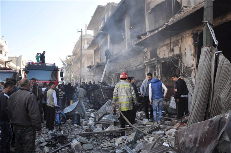 Syria bombings,twin bombings,Syria twin bombings,Homs city,32 people killed,32 people killed in Syria bombings,Al-Zahra