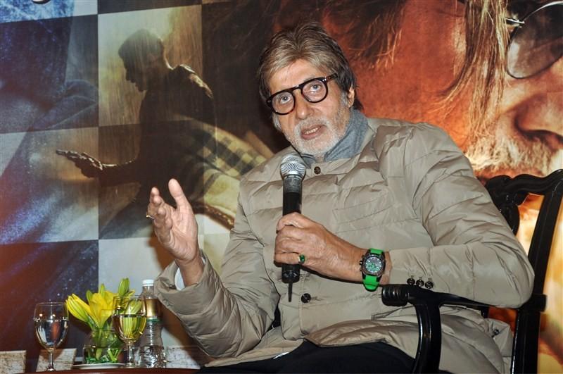 Amitabh Bachchan promotes Wazir,Amitabh Bachchan,Wazir,Wazir promotion,Wazir promotion in Kolkata,Bollywood actor Amitabh Bachchan,Big B,bollywood movie Wazir