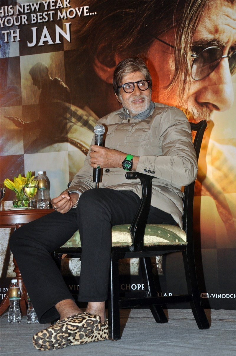 Amitabh Bachchan promotes Wazir,Amitabh Bachchan,Wazir,Wazir promotion,Wazir promotion in Kolkata,Bollywood actor Amitabh Bachchan,Big B,bollywood movie Wazir
