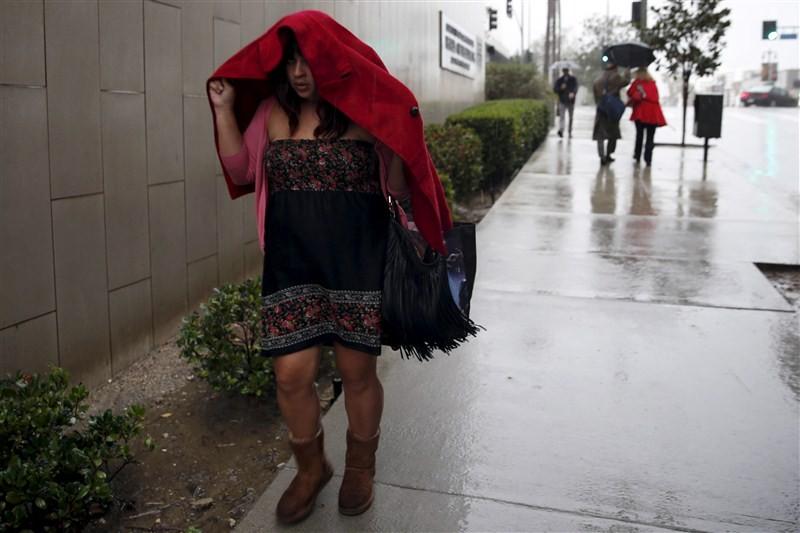 El Nino,El Nino hits California,El Nino finally hits California,California triggering flooding,California flooding,El Nino's Storm,El Nino Storm