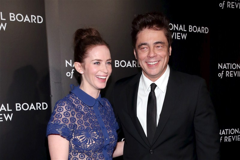 National Board of Review Gala,Kristen Stewart,Maggie Gyllenhaal,Emily Blunt,Benicio del Toro,Robert De Niro,Grace Hightower,Jessica Chastain,Brie Larson,Matt Damon,Peter Sarsgaard,Bill Nye