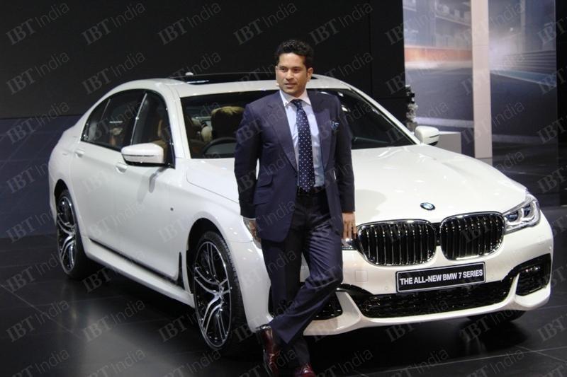 Celebrities At 2016 Auto Expo Sachin Tendulkar Ranbir: Celebrities And Cricketers Attended Auto Expo 2016, Delhi