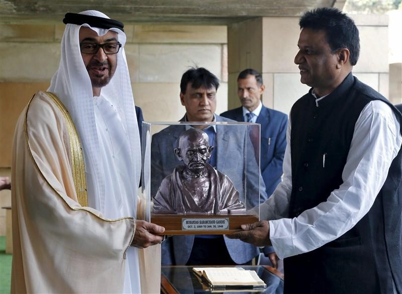 Sheikh Mohammed bin Zayed,Sheikh Mohammed bin Zayed arrives in New Delhi,Crown Prince of Abu Dhabi,Deputy Supreme Commander of the Armed Forces,Prime Minister Narendra Modi,Narendra Modi,PM Narendra Modi,Modi