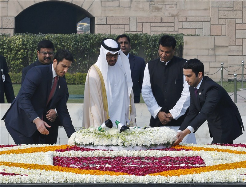 Sheikh Mohammed bin Zayed,Sheikh Mohammed bin Zayed arrives in New Delhi,Crown Prince of Abu Dhabi,Deputy Supreme Commander of the Armed Forces,Prime Minister Narendra Modi,Narendra Modi,PM Narendra Modi,Modi