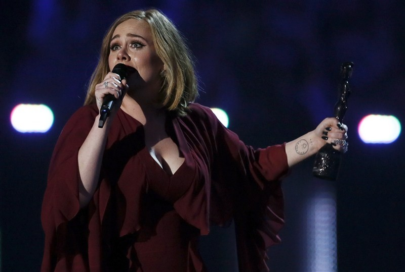 Adele,Singer Adele,BRIT Awards,Best Album,Adele dominates BRIT Awards with four wins,Adele dominates BRIT Awards