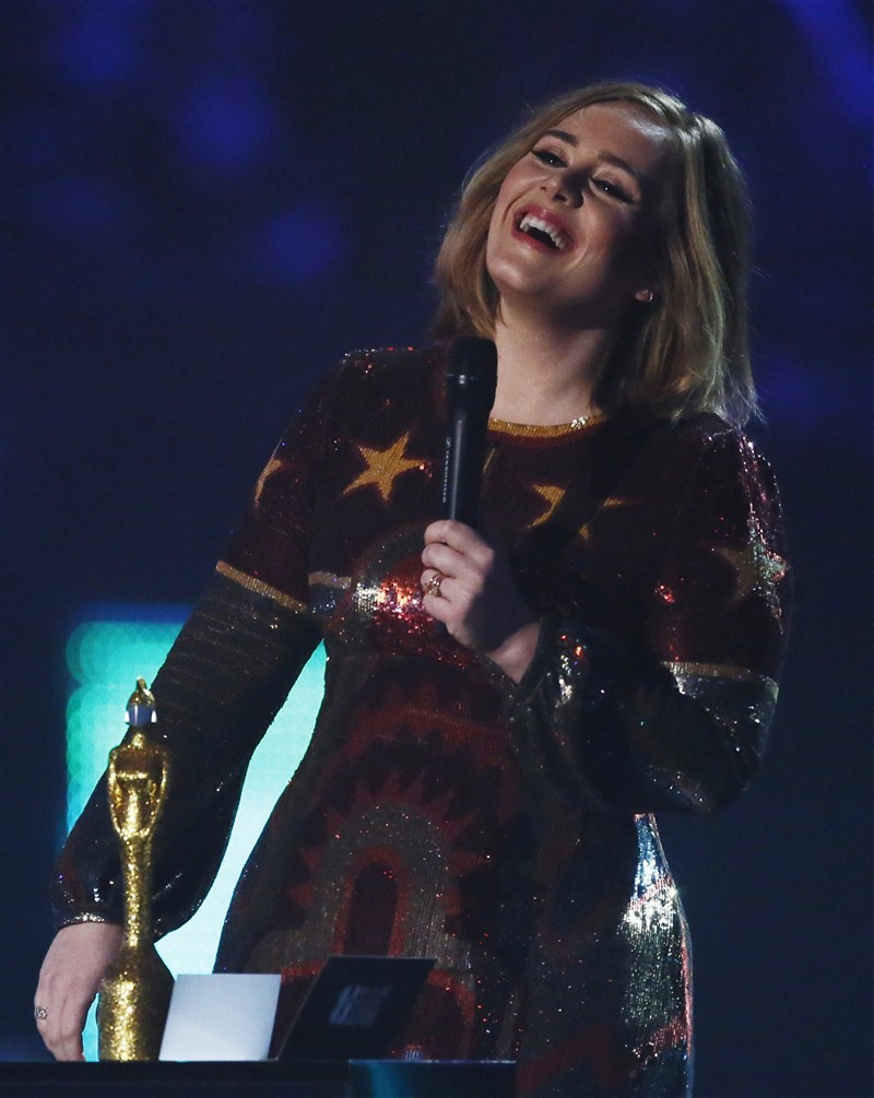 Adele,Singer Adele,BRIT Awards,Best Album,Adele dominates BRIT Awards with four wins,Adele dominates BRIT Awards
