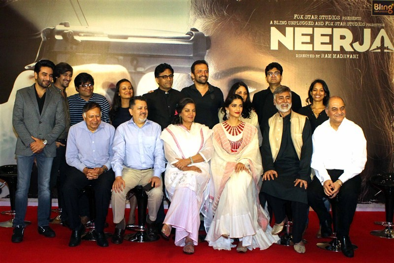 Sonam Kapoor,Shabana Azmi,Sonam Kapoor and Shabana Azmi,Neerja success meet,Neerja,Neerja success meet pics,Neerja success meet images,Neerja success meet photos,Neerja success meet stills,Neerja success meet pictures