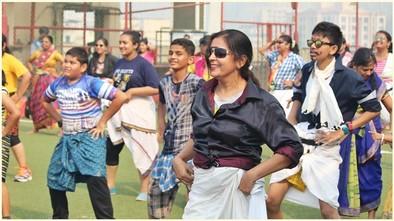 Rowdy,Rowdy dance,dance,Fitness takes a Tollywood turn via Rowdy,Fitness turn via Rowdy,Nikhilesh Pillay,Shashank Sanas,GAPA-Genesis Academy,new dance,lungi,lungi dance