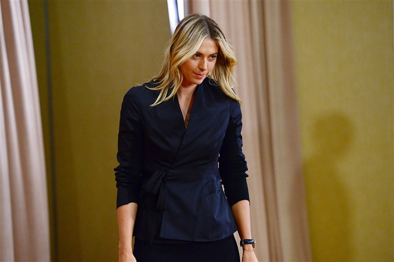 Maria Sharapova,Russian player Maria Sharapova,Maria Sharapova drug test,Maria Sharapova drug test at Australian Open Tennis,Australian Open Tennis,Maria Sharapova failing a drug test