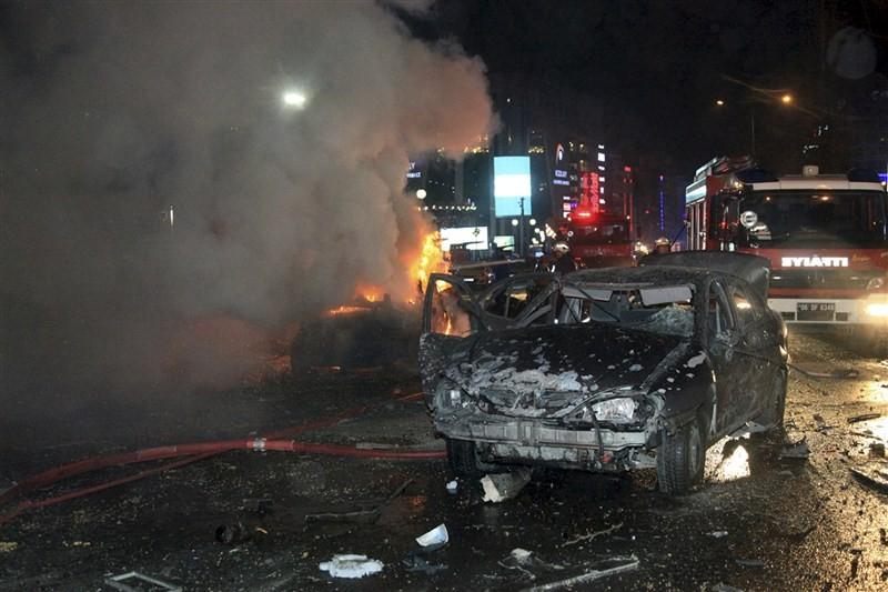 Ankara car bomb,Turkey condemns terror attack,Turkey terror attack,Ankara terror attack,Turkey car bomb blast kills 34,Turkey car bomb blast,car bomb blast in Turkey,car bomb blast,Ankara car bomb blast kills 34