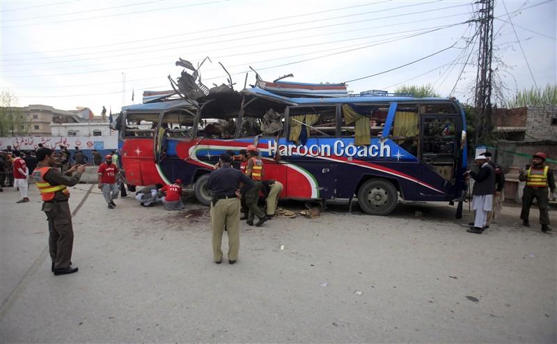 Bus blast,Peshawar,Peshawar Bus blast,Bus blast in Pakistan,Khyber Pakhtunkhwa,Terror attack