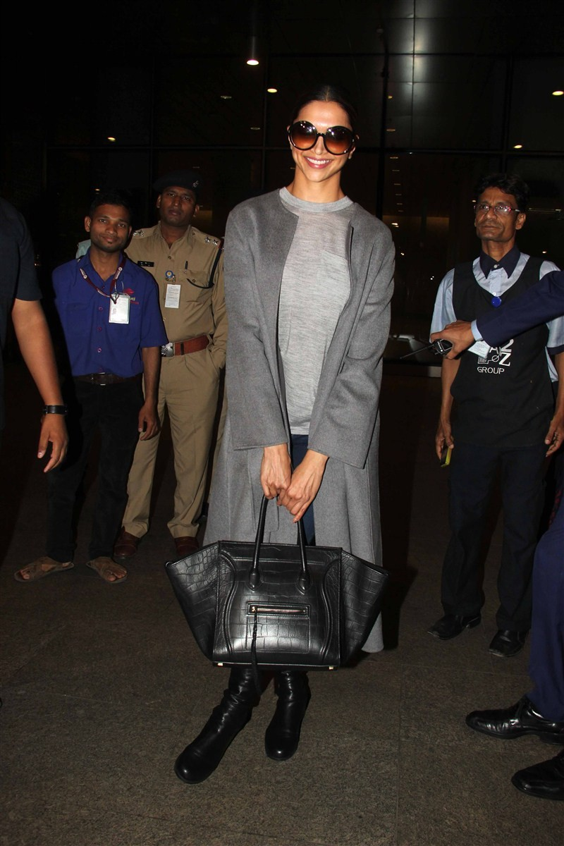Deepika Padukone,actress Deepika Padukone,Deepika Padukone arrives from Toronto,Deepika Padukone returns from Toronto,xXx: The Return of Xander Cage,Vin Diesel