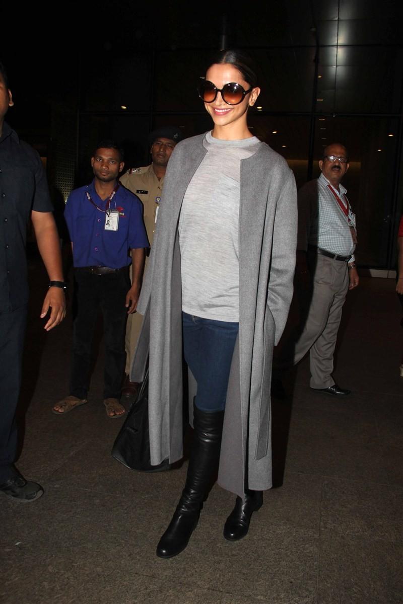 Deepika Padukone,actress Deepika Padukone,Deepika Padukone arrives from Toronto,Deepika Padukone returns from Toronto,xXx: The Return of Xander Cage,Vin Diesel