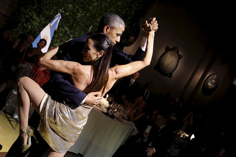 Obama,President Obama,Obama Dances The Tango,Obama at State dinner in Argentina,State dinner in Argentina,State dinner,Buenos Aires,Tango,Tango dance,Barack Obama,U.S. President Barack Obama,President Barack Obama