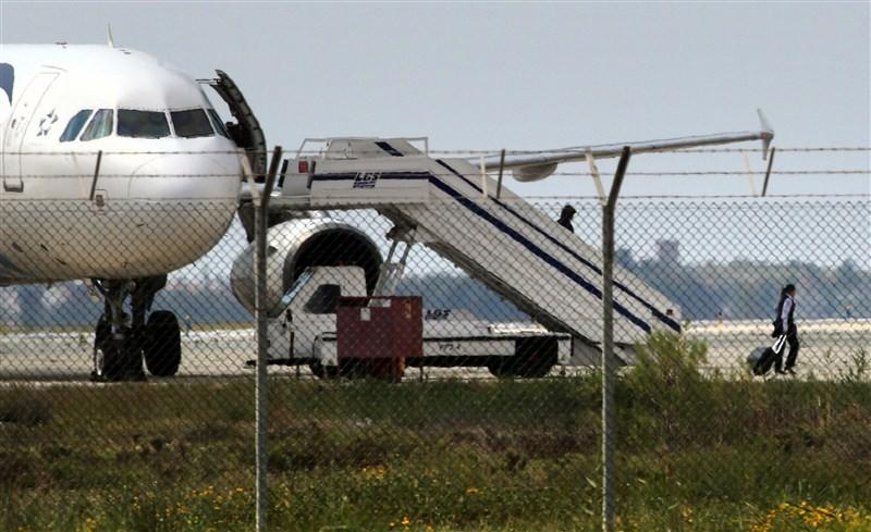 EgyptAir,EgyptAir plane hijacked,EgyptAir flight MS181,EgyptAir flight hijacked,explosives,Cyprus,EgyptAir plane landed at Larnaca airport,EgyptAir MS181,MS181,Cypriot anti-terrorism